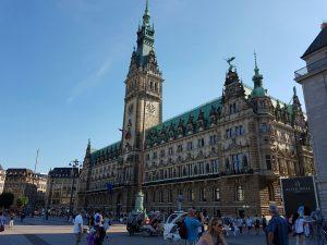 Rathaus Hamburg, sehr imposant