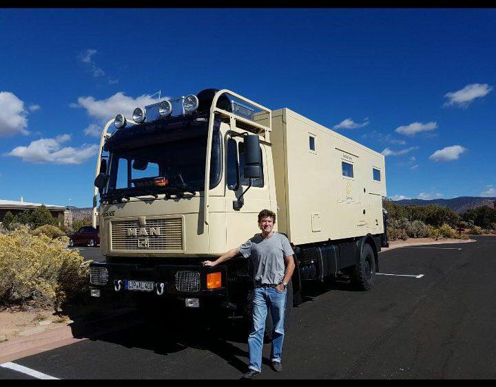 Mit MAN auf der Baja California
