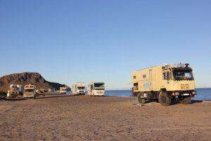 Overlandertreffen auf der Baja California