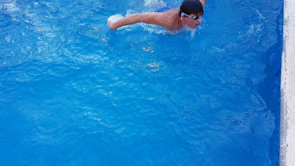 Schwimmen mit Aqua+